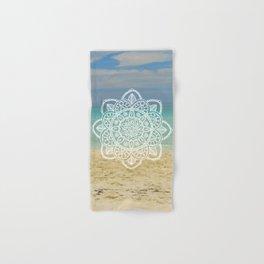 Beach Mandala Hand & Bath Towel