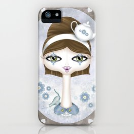Tea with Alice... iPhone Case