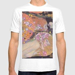 WATER SNAKES - GUSTAV KLIMT T-shirt