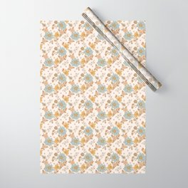 Daffodil Blues Wrapping Paper