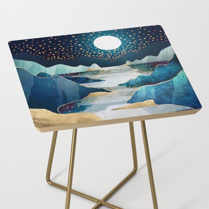 Moon Glow Side Table