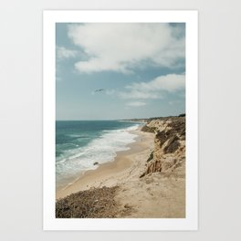 Crystal Cove, California Art Print
