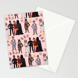 Good Omens Repeat Pattern #3 Stationery Cards
