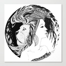 Instinct Canvas Print