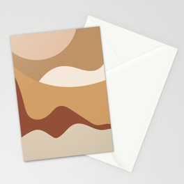 MOUNTAIN DREAMS - beautiful abstract art Stationery Cards