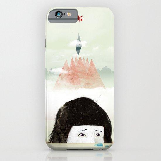 Girl Mountain iPhone & iPod Case