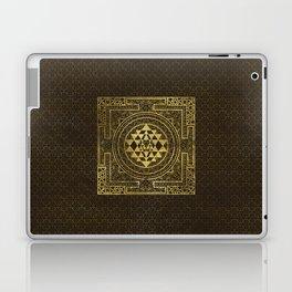 Gold Sri Yantra  / Sri Chakra Laptop & iPad Skin