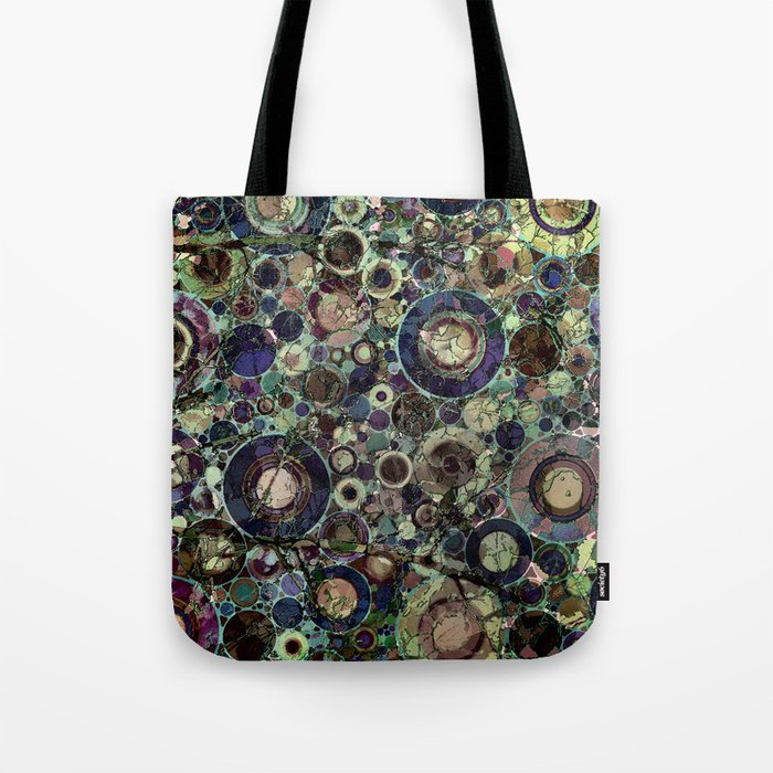 Stone Pattern Fantasy Tote Bag