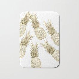 Pineapple Bling Bath Mat