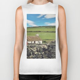 Thatched cottage, Ireland Biker Tank