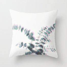 Eucalyptus Shadows II Throw Pillow