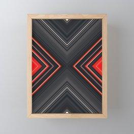 VHS Box Framed Mini Art Print