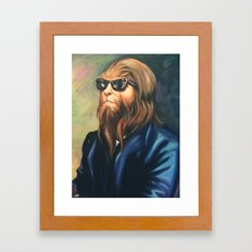 Sir Scott Framed Art Print
