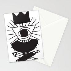 mighty eye card Stationery Cards