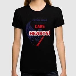 Date A PETROLHEAD They Break Cars Not Hearts! T-shirt