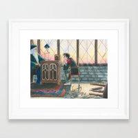 burdge Framed Art Prints featuring Enough Responsibility by Burdge