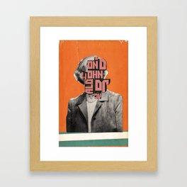 Cover Combine #13 Framed Art Print