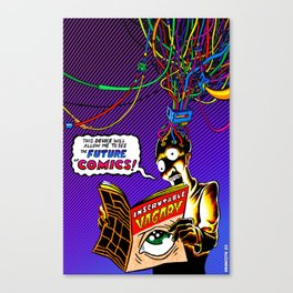 The Future of Comics (Dayglo Version) Canvas Print