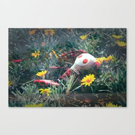 Molly in the Sunshine Field Canvas Print
