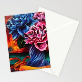 """""""Flowers"""" Painting Stationery Cards"""