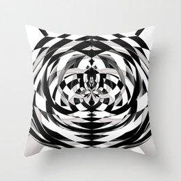 Unwind Spiral Throw Pillow