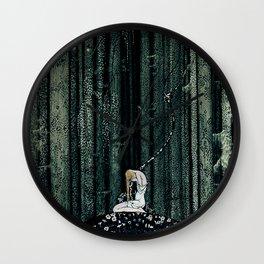 """In The Dark Wood"" Kay Nielsen Fairytale Illustration Wall Clock"