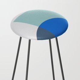 Mélange No. 1 Modern Geometric Counter Stool