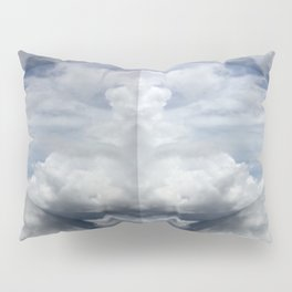 Clown Cloud Pillow Sham