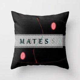 SOULmates Throw Pillow