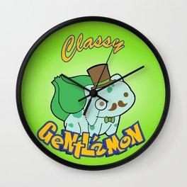 Classy leaf Wall Clock