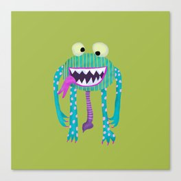 Monster Hugo Canvas Print