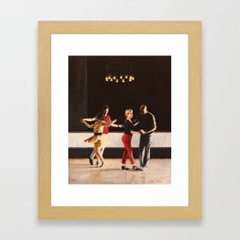 Brooklyn Swings on Friday Framed Art Print