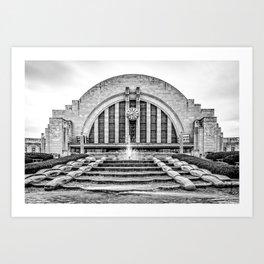 Union Terminal Art Print
