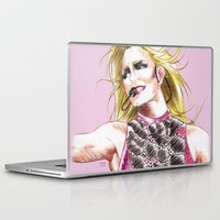 britney spears Laptop & iPad Skins featuring Britney Spears Femme Fatale Tour by Eduardo Sanches Morelli