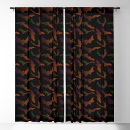 Mystic Bats Blackout Curtain