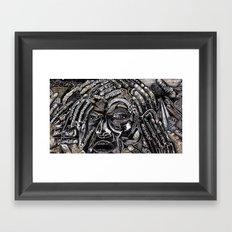 Mind Frame (Still Frame 2) Framed Art Print