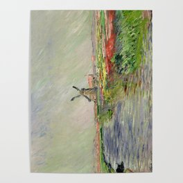 Monet, Tulip Field in Holland, 1886 Poster