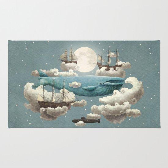 Ocean Meets Sky - colour option Rug