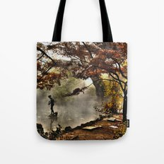 Steamy days Tote Bag