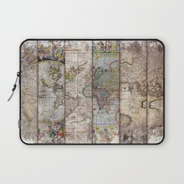 Old Times (World Map) 2 Laptop Sleeve