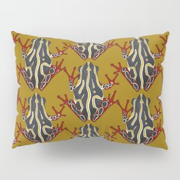 congo tree frog gold Pillow Sham