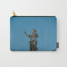 The Muse of Comedy Thalia atop the Clarendon Building Oxford University England Carry-All Pouch