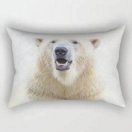 Cute  Zoo Polar Bear Rectangular Pillow