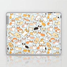 Corgilicious Corgi Doodle Laptop & iPad Skin