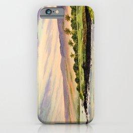 Mauna Kea Golf Course Hawaii Hole 3 iPhone Case