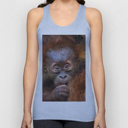 Extraordinary Animals - Orang Baby Unisex Tank Top
