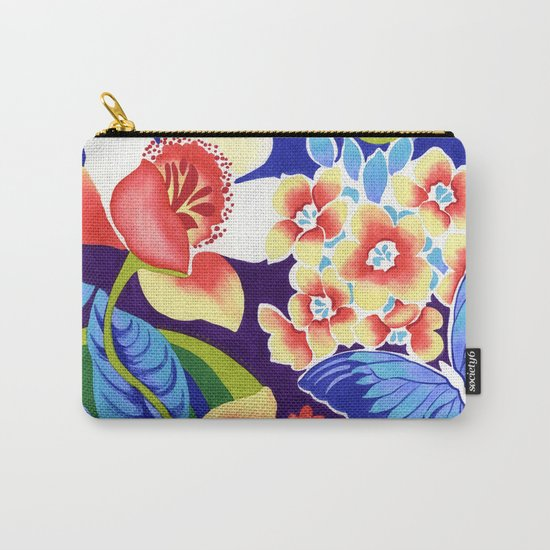 Whimsical Garden Carry-All Pouch