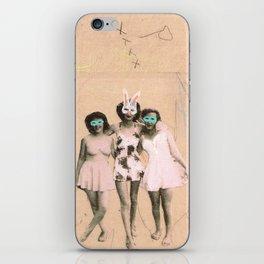 Imaginary Friends- Playmates iPhone Skin