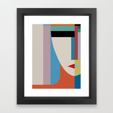 Absolute Face Framed Art Print