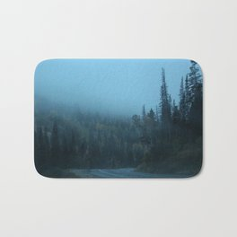 Into the Fog Bath Mat